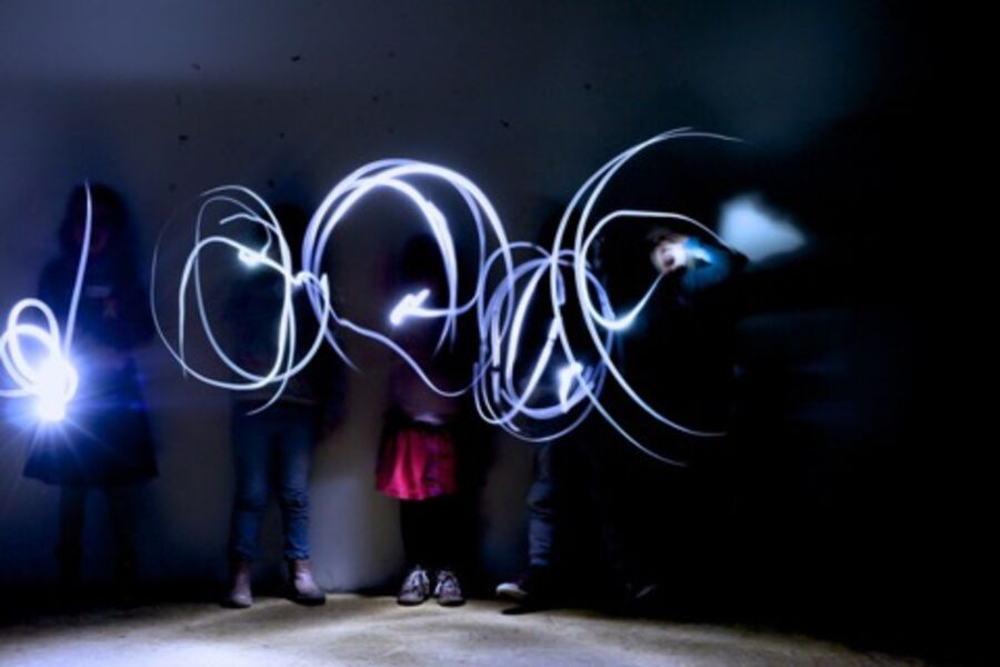 Workshop Lichtgraffiti - Artforum